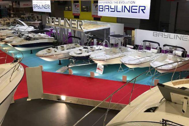 Le stand Bayliner au Nautic 2016