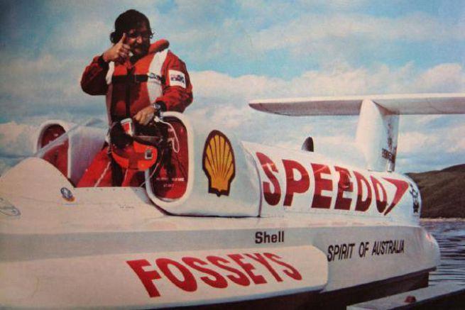 Ken & Spirit of Australia en 1978