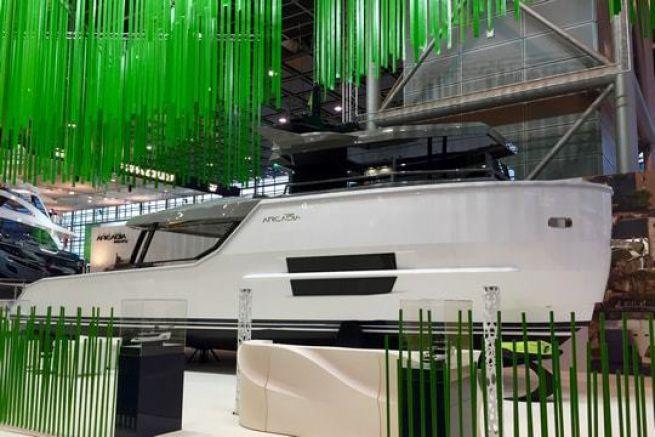 Arcadia Sherpa, nouveau modèle du chantier Arcadia Yacht exposé en première mondiale sur le Boot 2016