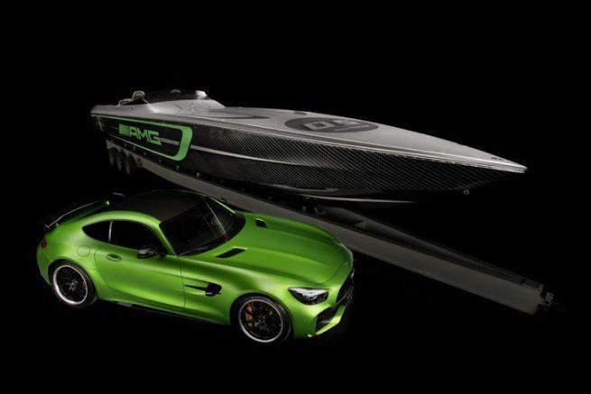 La nouvelle collaboration de Cigarette Racing Team et Mercedes AMG, le 50' Marauder GT R