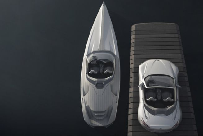 Le concept de Powerboat de Peugeot Design Lab