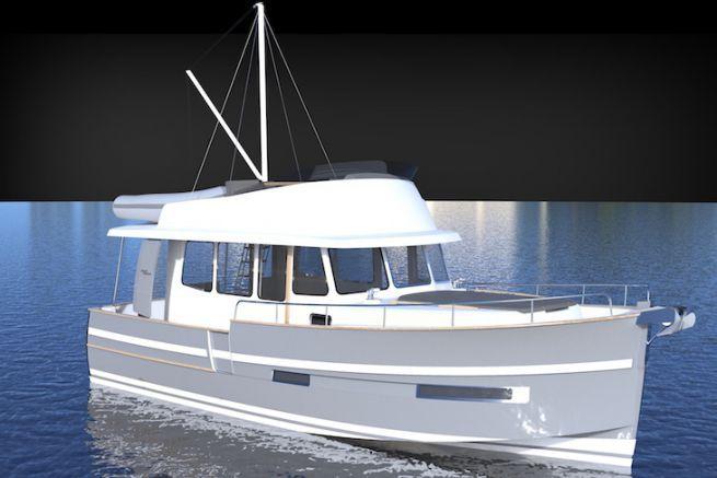 Le nouveau Trawler 34 de Rhéa Marine, à découvrir au Nautic 2018