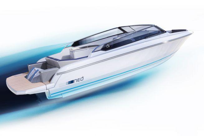 Neo version Open, nouveauté 2018 de Greenline Yachts