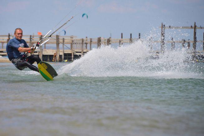 Chris Ballois, nouveau recordman du monde de vitesse en kitesurf