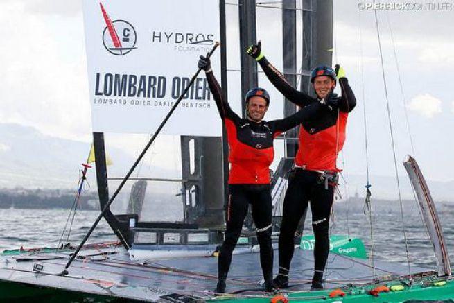 Cammas/Viat remportent la Little Cup