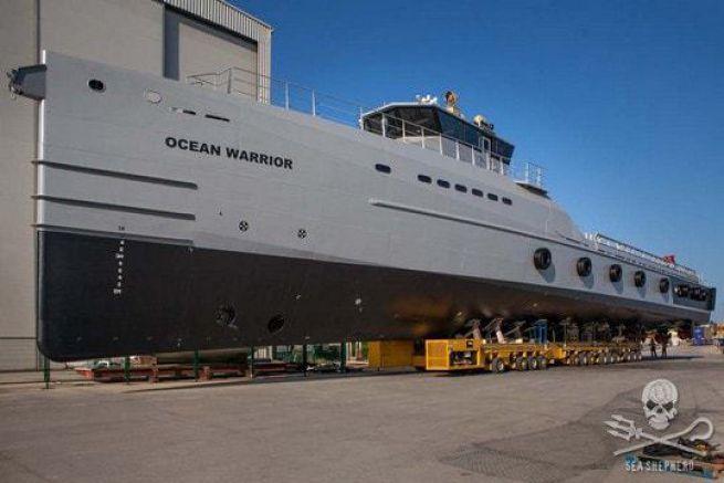 Ocean Warrior, nouveau patrouilleur de Sea Shepherd