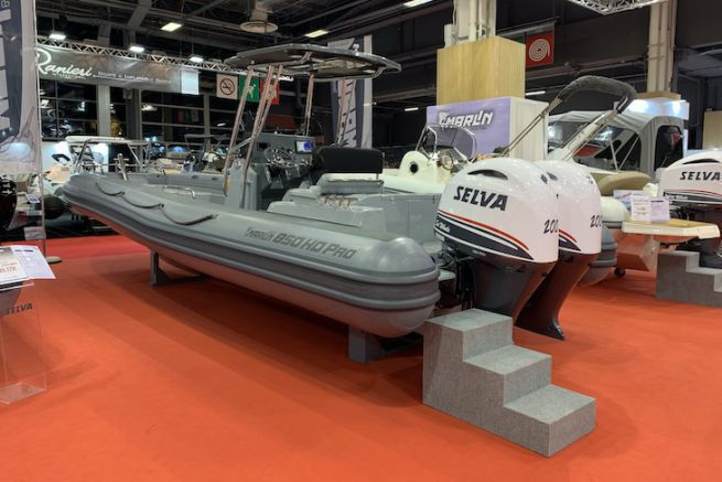 Le Marlin 850 HD Pro au Nautic de Paris 2020