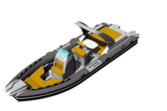 Le nouveau W7i de Wimbi Boat, à découvrir en septembre 2017, à Cannes