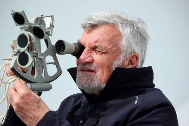 VDH vient de boucler son tour du monde à l'aide d'un sextant