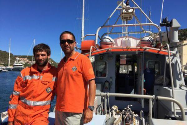 Vincent et Arnaud, équipiers sur le SNS 063