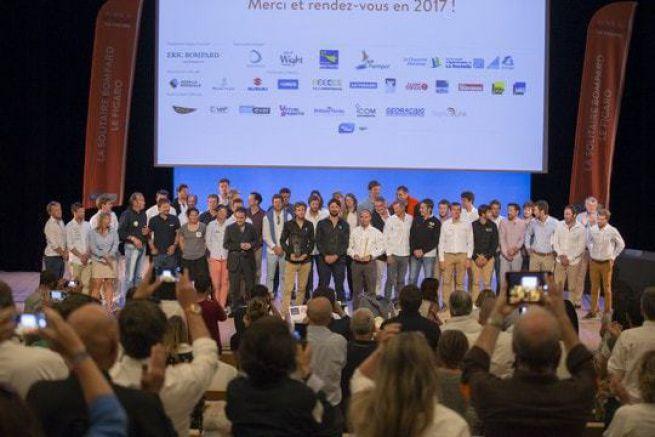 Les skippers de la 47eme édition de la Solitaire Bompard Le Figaro