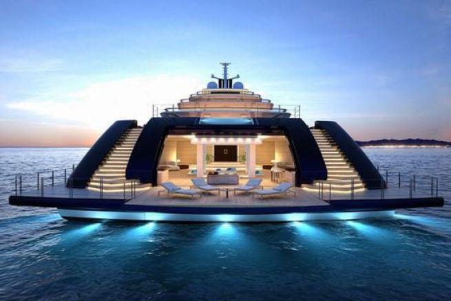 Gleam, le nouveau superyacht de 165 m de Nauta Yachts