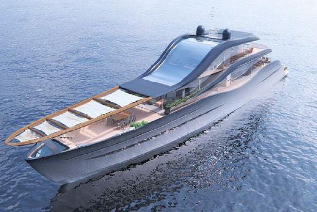 Le projet de superyacht de Marlene Ratajska