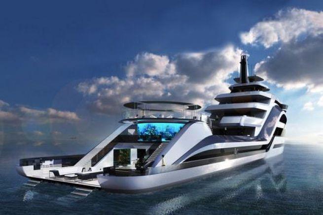 Le superyacht Selazzio