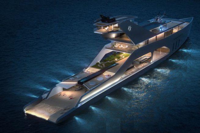 Concept de megayacht de 108 m