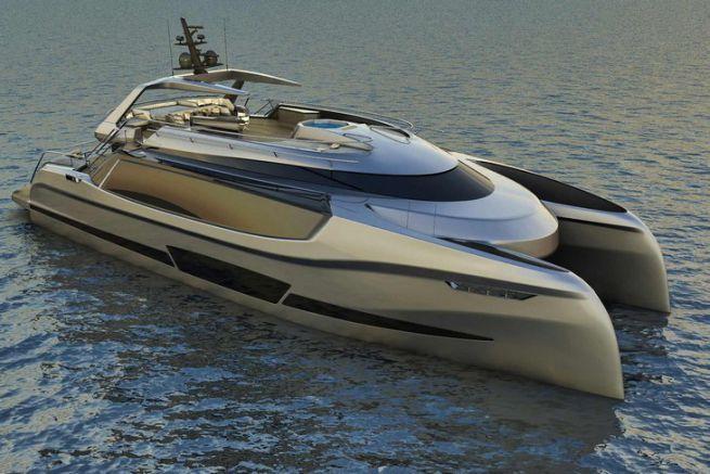 Ego, un concept de superyacht catamaran