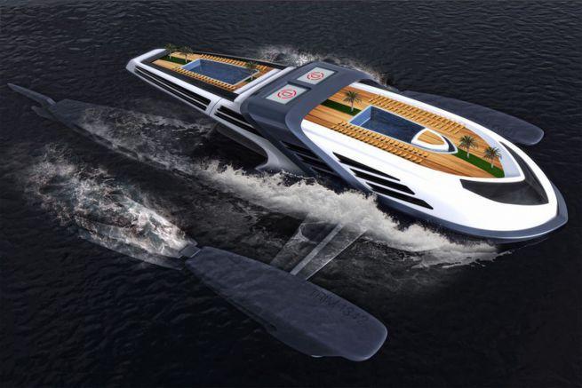 Seataci, concept de Charles Bombardier