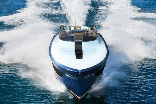 L'Aeroboat S6, un concept de yacht inspiré de l'aviation britannique du siècle dernier