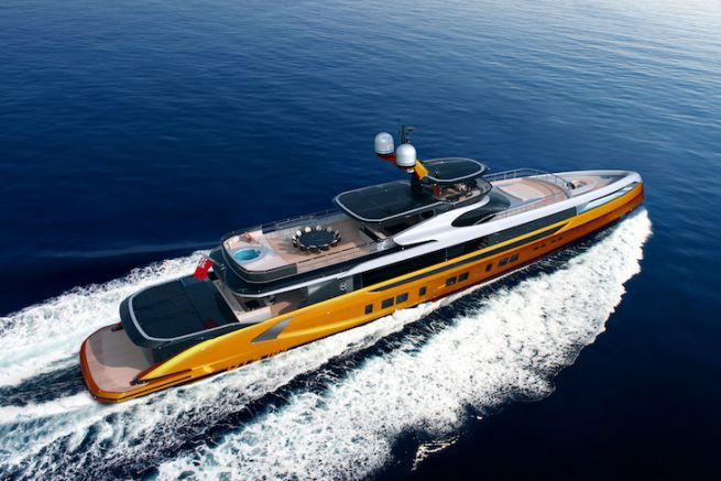 GTT 165, le plus grand modèle de Dynamiq Yachts