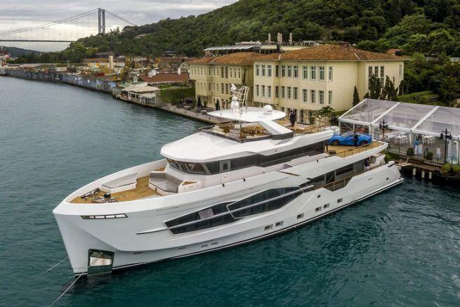 Le Numarine 32 XP, premier yacht Explorer du chantier turc