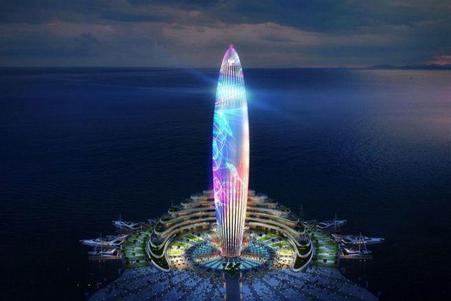 Dubaï Harbour, la future marina de Dubaï
