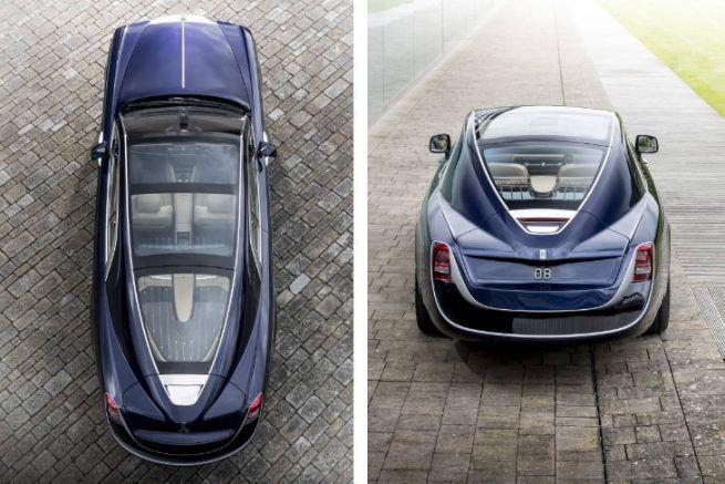 Rolls Royce Sweptail, la voiture de luxe unique au monde inspirée du monde du yachting