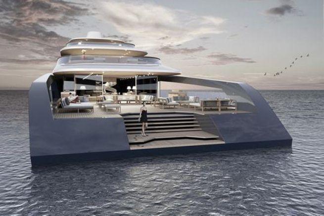 Le concept de superyacht 80 M X-Prime