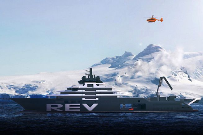 Le REV, Research Expedition Vessel