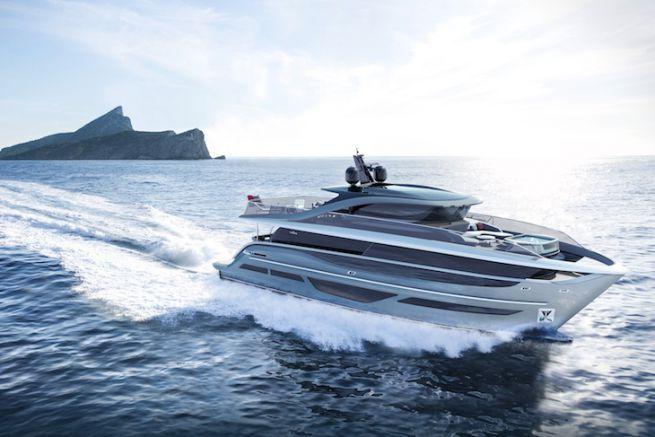 Princess X95, premier modèle de la X Class de Princess Yachts