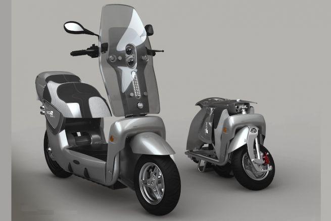 Le scooter électrique repliable XOR