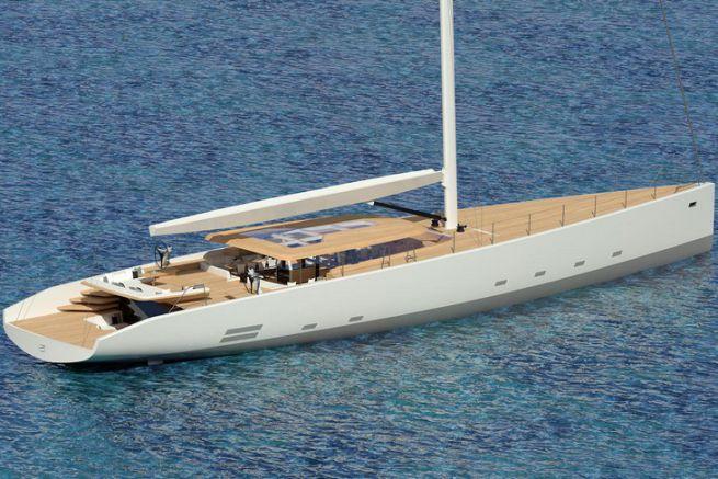 Le Wally 145 sera mis à l'eau en mai 2019
