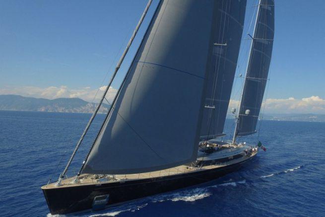 Sybaris, le meilleur yacht à voile de l'année 2017