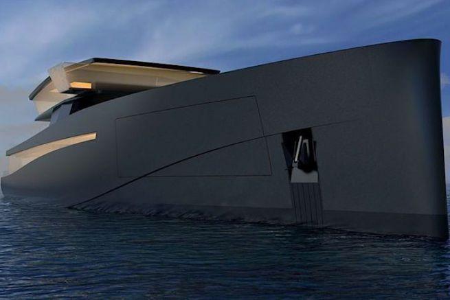 Le yacht d'exploration par Wally