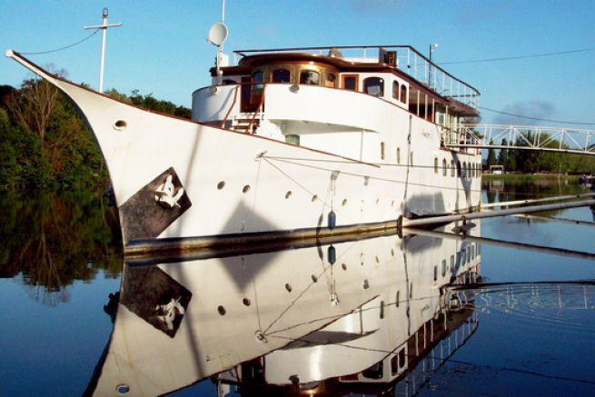 Amazone, yacht de Winston Churchill