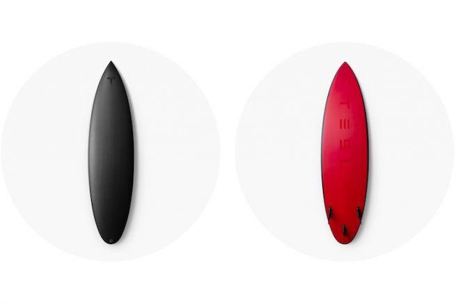 La Tesla Surfboard