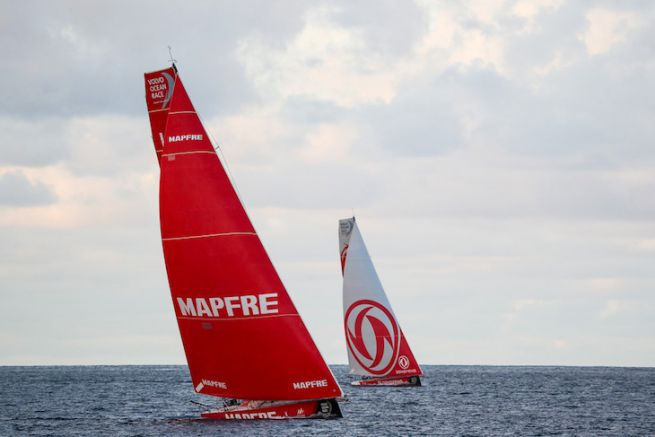 MAPFRE et Dongfeng Race Team