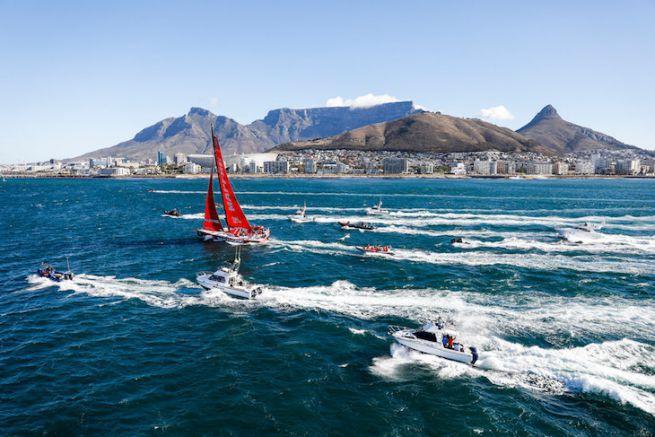 MAPFRE remporte la 2ème étape de la Volvo Ocean Race