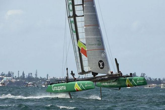 L'AC 45 de Groupama Team France