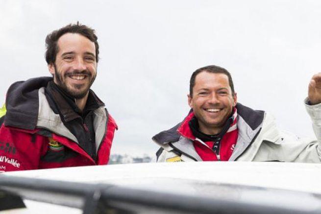 Louis Burton et Romain Attanasio
