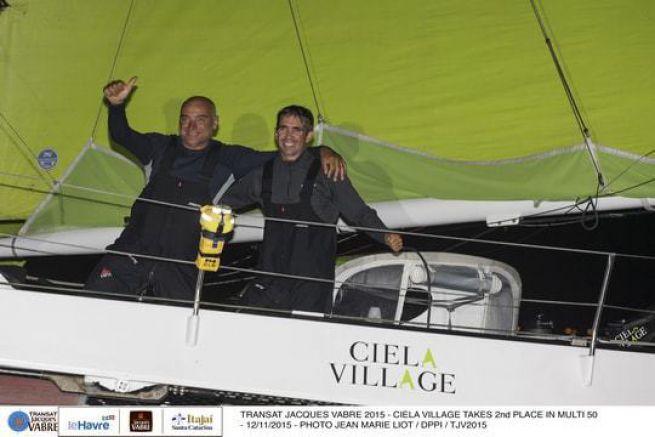 Thierry Bouchard et Oliver Krauss sur Ciela Village