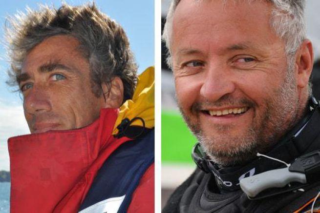 Gilles Lamiré et Yvan Bourgnon en Multi50