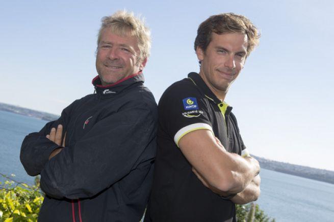 Yann Eliès et Charlie Dalin
