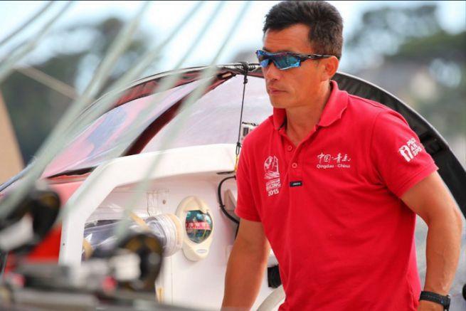 Le skipper chinois Guo Chuan