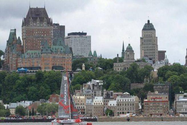 Départ de la Transat Québec Saint-Malo