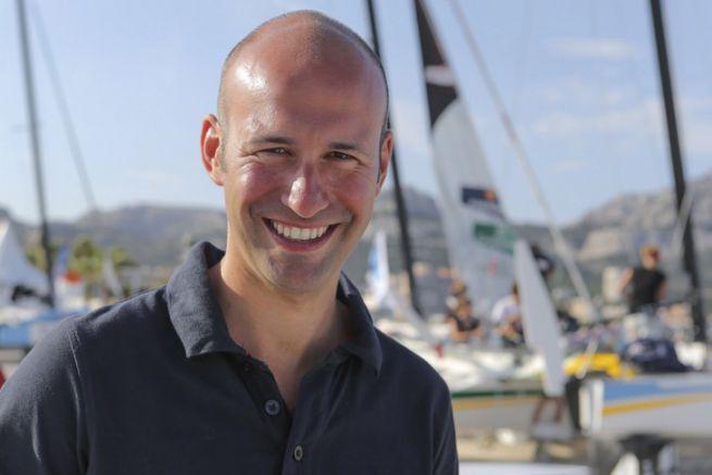 Jean-Baptiste Durier, directeur de l'épreuve Nice Ultimed