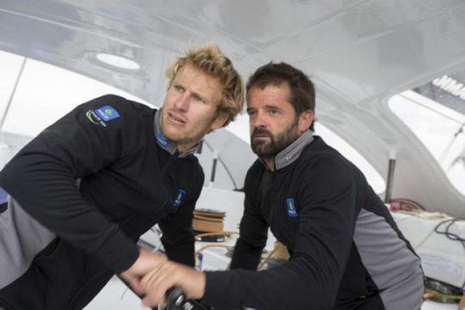 François Gabart et Pascal Bidégorry