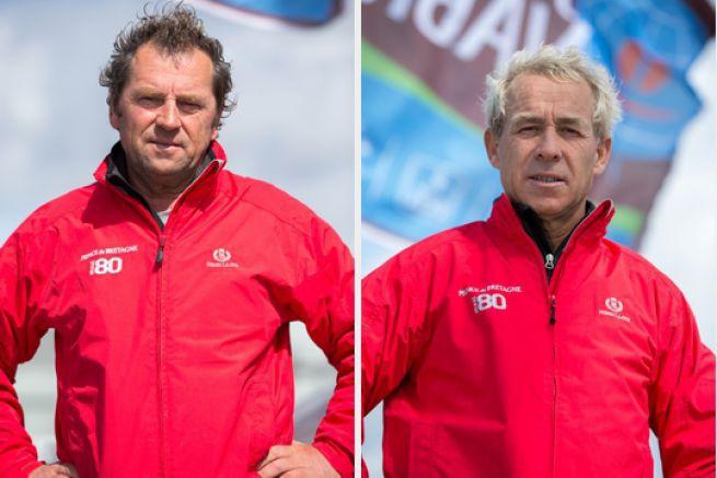 Lionel Lemonchois et Roland Jourdain