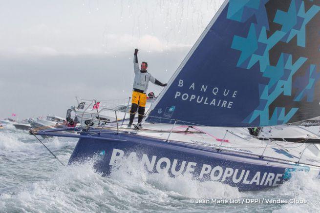 Armel le Cléac'h vainqueur du Vendée Globe 2017