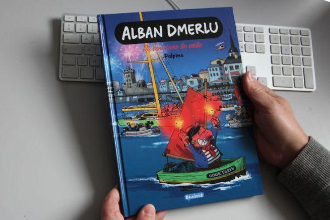 Alban Dmerlu Du vent dans les voiles