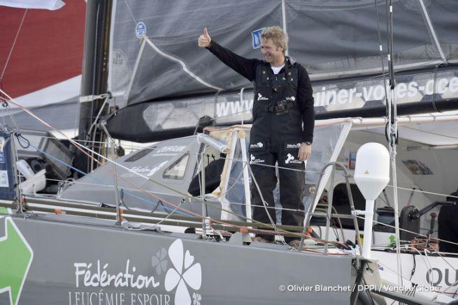 Yann Eliès, cinquième du Vendée Globe